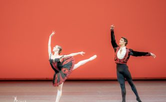 Elisa Badenes and Daniel Camargo in Don Quixote