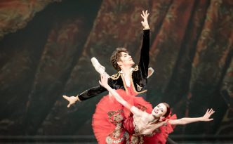 Evelina Godunova (Berlin State Ballet, Germany) as Kitri and Bakhtiyar Adamzhan (Astana Opera, Kazakhstan) as Basilio in Don Quixote