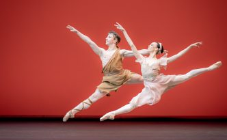 Nikisha Fogo and Denys Cherevychko in Sylvia