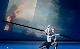 Anna Laudere and Edvin Revazov in Heroica, 2nd movement from Beethoven-Project