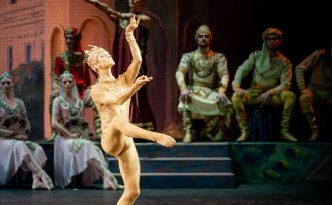 Julian MacKay As Golden Idol in La Bayadere
