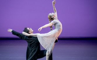 Silvia Azzoni and Alexander Riabko in the duet from Orpheus