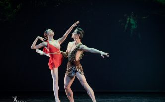 Nikisha Fogo and Young Gyu Choi in Diana and Actaeon Pas de deux
