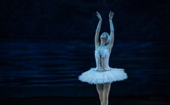 Annija Kopštāle (debut) as Odette in Swan Lake