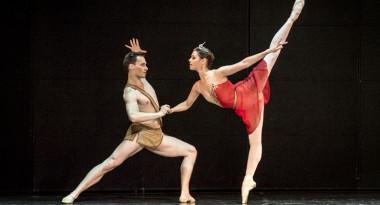 Daria Khokhlova and Alexander Smoliyaninov in La Esmeralda