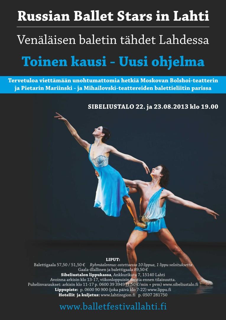Russian Ballet Stars in Lahti
