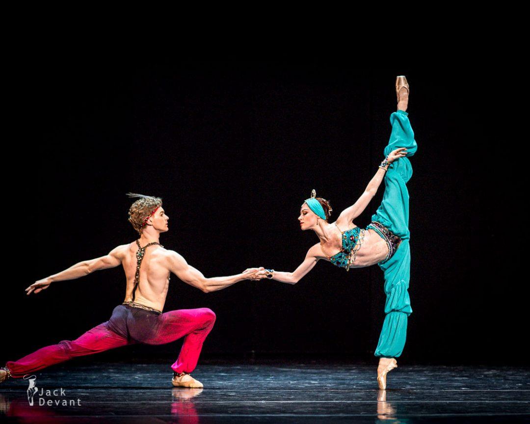 Elena Evseyeva and Alexei Timofeyev in Le Corsaire