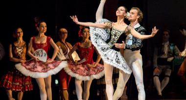 Don Quixote pas de deux (act 3) by Anastasia Matvienko, Denis Matvienko.