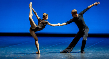 Herman Schmerman by Nadja Saidakova and Federico Spallitta, choreography by William Forsythe