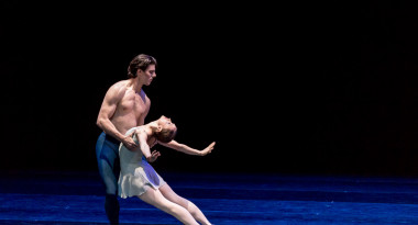 Larissa Lezhnina and Casey Herd in the Trois Gnossiennes