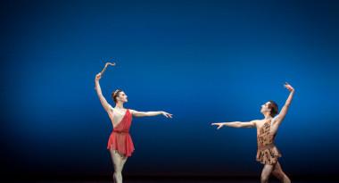 Maria Baranova and Sergei Upkin in Diana and Acteon