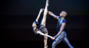 Melissa Hamilton and Eric Underwood in Raven Girl
