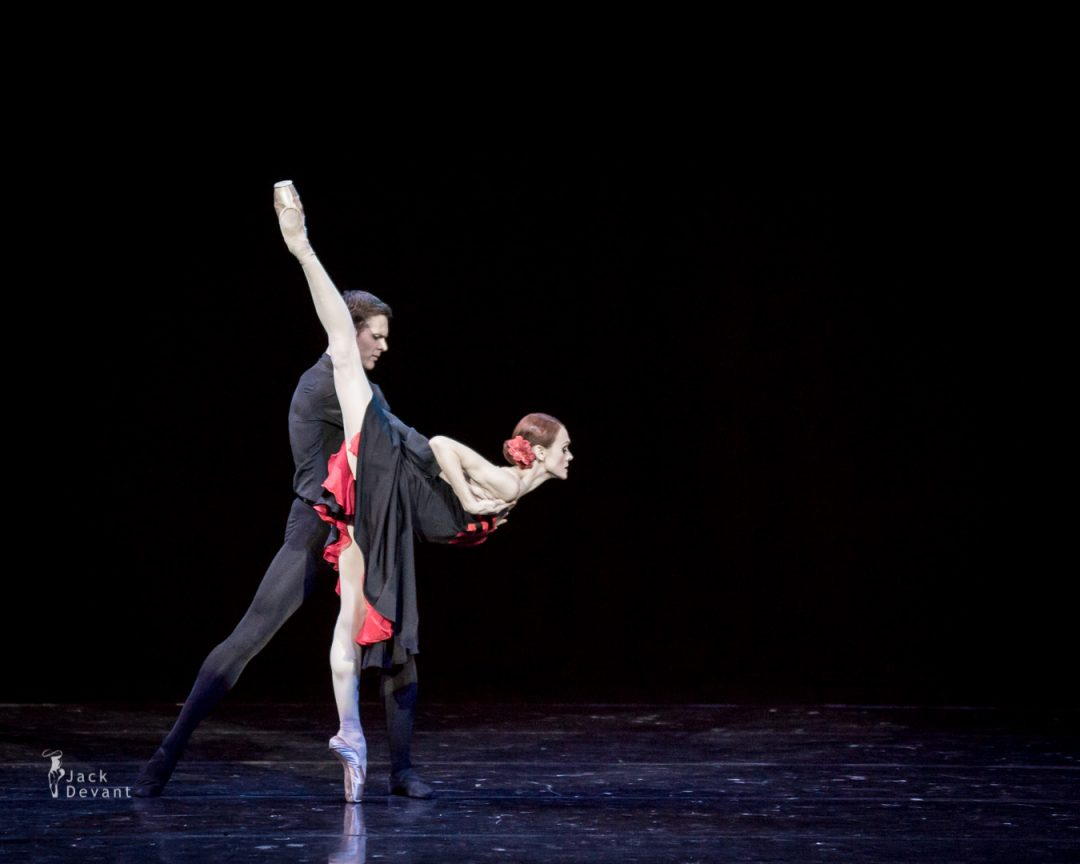 Ulyana Lopatkina and Raimond Martinov in Five Tangos