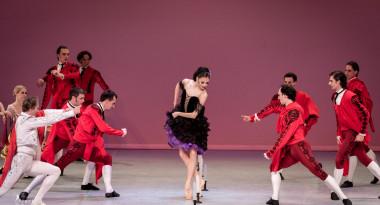 Julia Moskalenko and Oleksandr Shapoval in Don Quixote