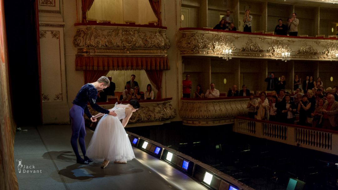 13.09.2014 Giselle, Natalia Osipova and Leonid Sarafanov, Mikhailovsky - programme