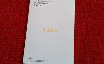 HET Nationale Ballet 2014 Gala Concert programme