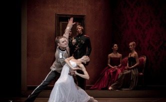 Diana Vishneva and Alexey Lyubimov in Tatiana act 2 Ball scene