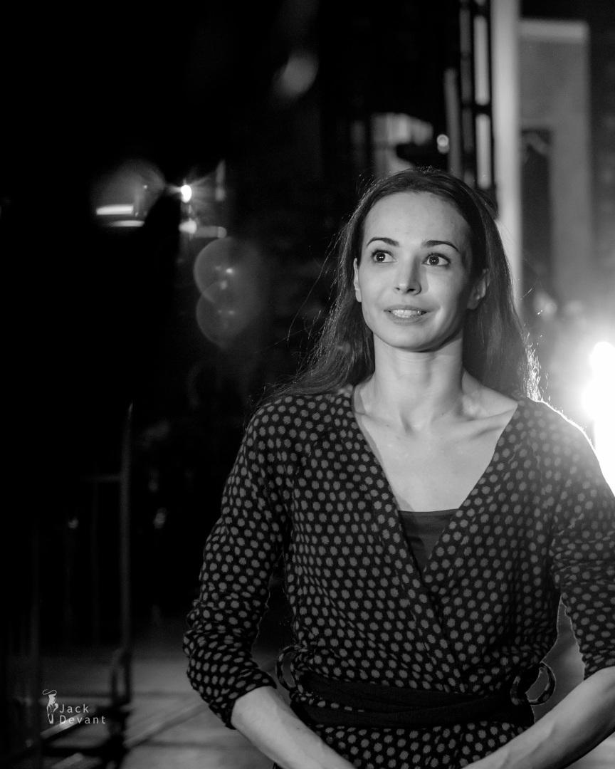 diana vishneva Tatiana general rehearsal backstage