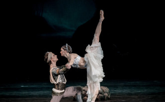 La Bayadere Natalia Somova as Nikiya Sergei Polunin as Solor