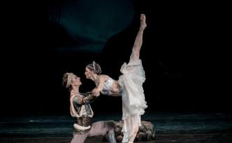 La Bayadere Natalia Somova as Nikiya Sergei Polunin as Solor