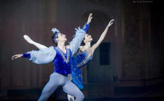 Svetlana Danilova and Vlad Marculescu in Bluebird