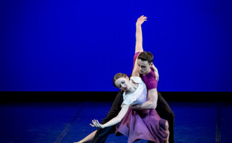 Larisa Moskalenko and Klim Krein in I don't Love You