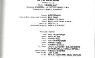 Giselle by Svetlana Zakharova and Sergei Polunin in Teatro Di San Carlo