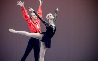 Sergey Sidorsky and Olga Golitsa in Carmen adagio