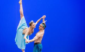 Andrey Batalov and Oksana Bondareva in Le Corsaire