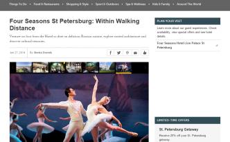 mariinsky theatre Four Seasons
