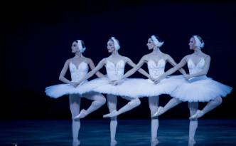 Anastasia Asaben, Oxana Marchuk, Alexandra Lampika, Svetlana Ivanova as four Cygnets
