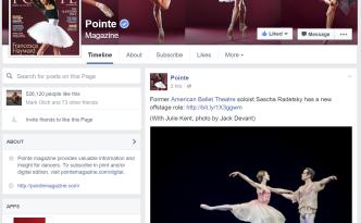 pointe magazine ascha Radetsky