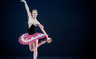 Marjana Fazullina in La Esmeralda variation