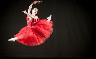 Veronika Varnovskaya in La Esmeralda variation - TIBC 2016