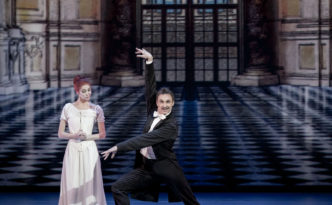 Maria Yakovleva and Manuel Legris in the Die Fledermaus The Bat