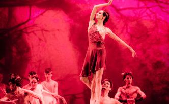 Oksana Skorik, Matthew Golding and Dinu Tamazlacaru in Walpurgis Night from Faust