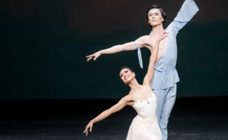 Madina Basbaeva and Yerkin Rakhmatullayev in The Talisman