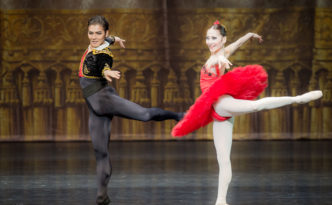 Anel Rustemova and Bakhtiyar Adamzhan in Don Quixote