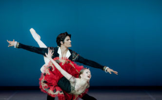 Marita Weinrank and Ali Urata in Don Quixote grand pdd