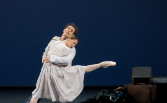 Silvia Azzoni and Alexandre Riabko in Hamlet