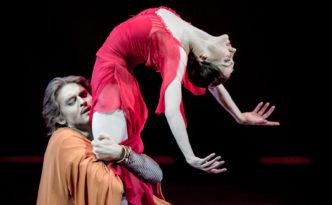 Yulia Stepanova (rus. Юлия Степанова) and Denis Rodkin (Rus. Денис Родькин) in Macbeth