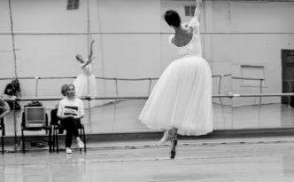 Olga Grishenkova Victor Lebedev Victoria Ryazhenova Giselle rehearsal