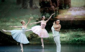 Iana Salenko, Ivan Vasiliev and troupe of Kremlin ballet in The Talisman