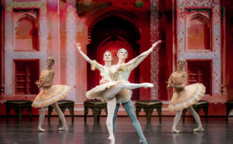 Marianela Nunez, Vadim Muntagirov and soloists of the Kremlin Ballet in La Bayadere