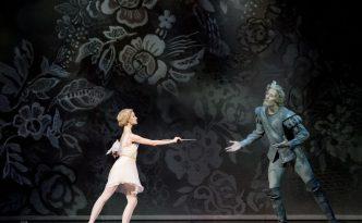 Maria Zhdanova as Cupid in Don Quixote