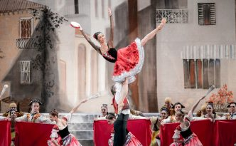 Oksana Kardash and Dmitry Sobolevsky in Don Quixote