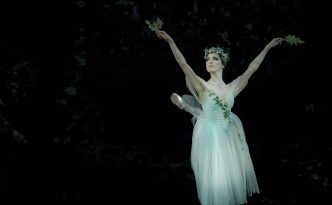 Elisabetta Formento as Myrtha, the Queen of the Wilis. Giselle