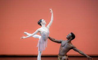 Ayano Kimura and Brooklyn Mack in Diana and Actaeon