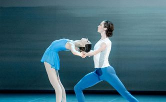 Inessa Glazõrina and Jaan Männima in Adagio