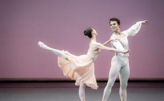 Misa Kuranaga and Paulo Arrais in Tchaikovsky pas de Deux